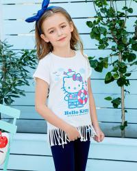 2018SS女童圆领短袖T恤K282110